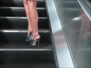 Beautiful Mistress Walking In Tube