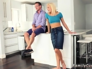 Mom seduces crony's daughter in shower and wait daddy Aint N