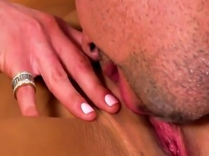 Audrey Bitoni gets pussy licking and fucking