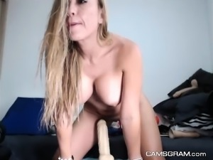 Hottest Milf Pleasures Herself For Your Enjoyment