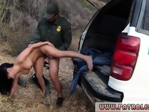 Police officer first time Busty Latin floozie Alejandra Leon