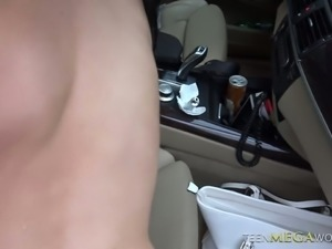 Raunchy sexual freak Nicole Love is a nasty rimmer and she loves car sex