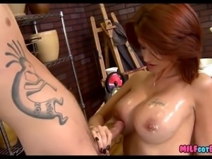 Redhead MILF is Hot as Fuck