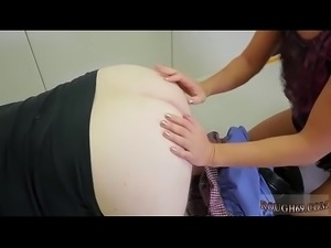 Milf punishes friend&#039_s daughter with strapon xxx Talent Ho