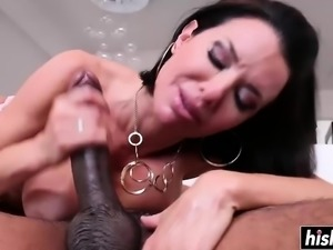 Fat dick drilling for Veronica Avluv