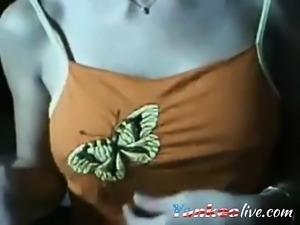 Cute Little Oriental Teen Teases At Her Webcam