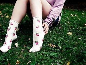 Strawberries socks