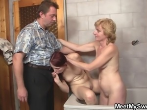 son's girlfriend fucked by pervert parents