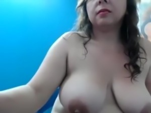 Grosse big tits webcam