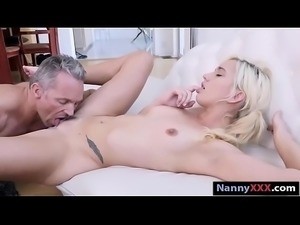 Nanny Eliza Jane fucked to earn extra