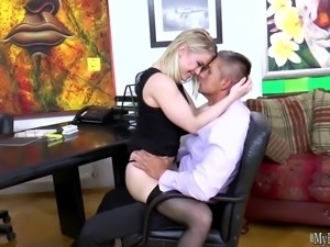 Ash Hollywood never thought she would be spreading her legs for a person