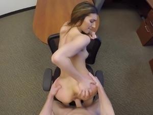 Amazing office sex