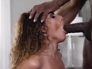 Hoe Liv Revamped having her slippery throat boned by Prince Yahshua