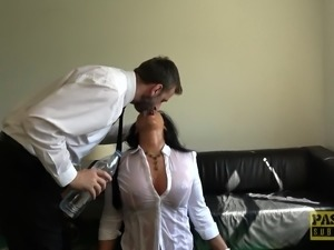 Hot MILF Candi Kayne ravished by a kinky master during a fuck