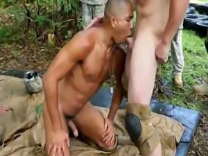 Military boy masturbating gay Jungle poke fest