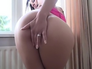 Up close pussy and anal webcam show