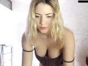 Sensual solo jerk off