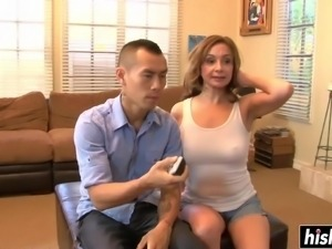 Lucky guy gets to fuck a hot milf