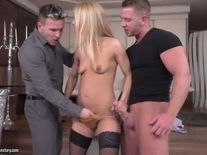 Nikky Thorne can be aroused by the sight of a cock and this hoe loves sex