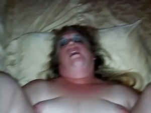 Ssbbw takes my fat cock in her asshole