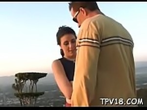 Sex with cute teen girl