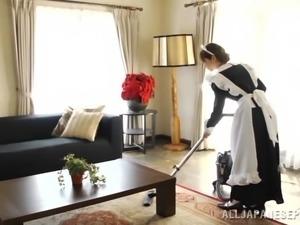 Sweet Miku Ohashi Serves A Yummy Blowjob In A POV Video