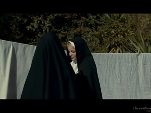 It seems that this life within the walls of a nunnery is very difficult for...