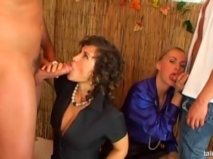 Tatiana in nylon pantyhose banging on big cock hardcore