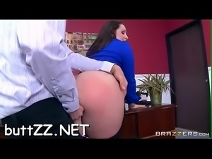 Girl&#039_s wazoo spanked and fucked