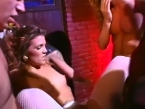 Marvelous and sultry white lady craves to be gangbanged