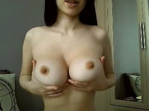 French MILF with big boobs
