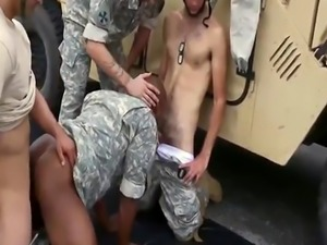 Gay sexy men in  army Explosions  failure  and punishment
