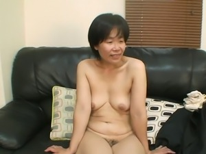 Yoshiko Maruyama loves her tits and she loves having them licked properly