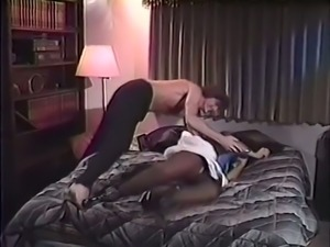 Real vintage white brunette whore gives amazing head