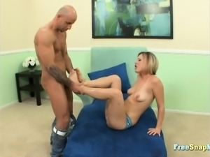 Hot Feet Blonde Fetish