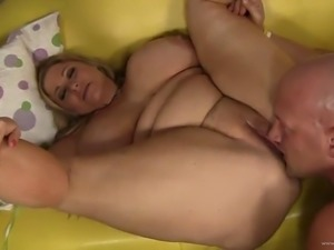 amazing sex with the sexy bbw blonde samantha