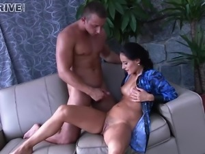 Cowgirl pussy ravished hardcore then pissed on