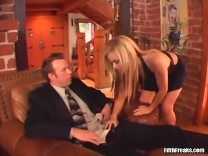 Alicia Rhodes is a hot blonde ready to be plowed up her tight hole