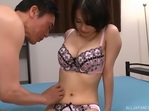 Japanese chick seduced by a fellow for an amazing shag