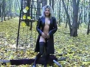Outdoor amateur ass fuck