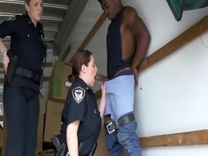 Milf anal orgy hd Black suspect taken on a tough ride