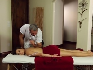 It first started as a massage session,damn ending up in a heated missionary...