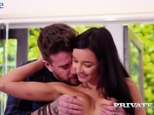 Slender Brazilian babe Francys Belle gets her muff rammed hard