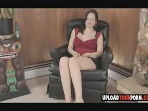 Horny babe with perfect pussy masturbates on cam for the first time