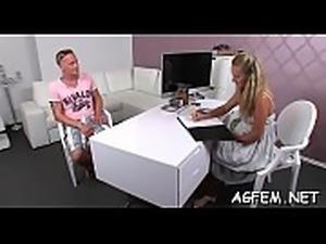 Female agent adores fucking around