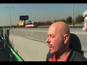 Milf Sodomized by the Highway for all to see!