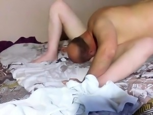 Mature perverts turn their bedroom games into a porn movie