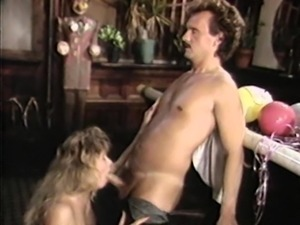 Guy with a moustache shagging the hot babe in her favorite poses