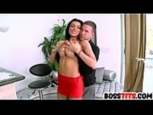 Filthy boss Romi Rain gets fucked