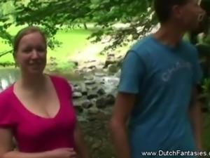Chubby Big Nipples Dutch MILF